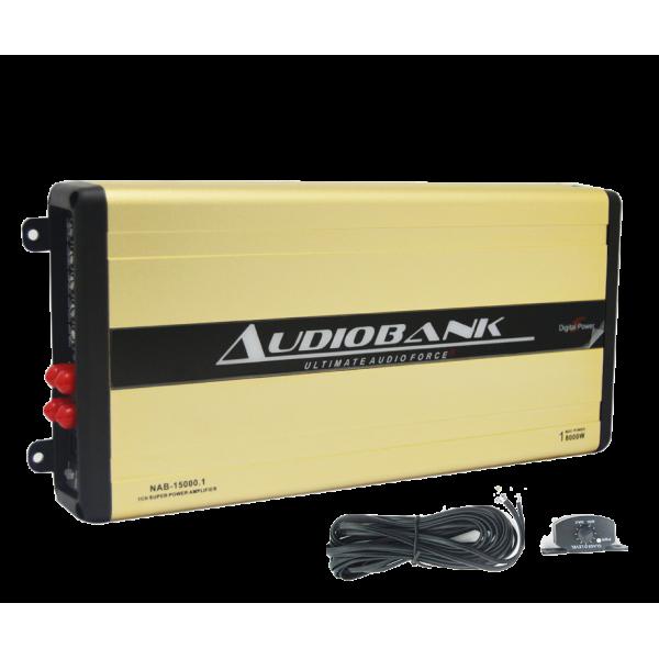 Audiobank NAB-15000.1 Digital Nano Series Monoblock Amplifier 800w RMS