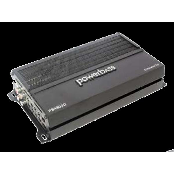 Powerbass PB4800D 5200w 4 channel Compact Amplifier