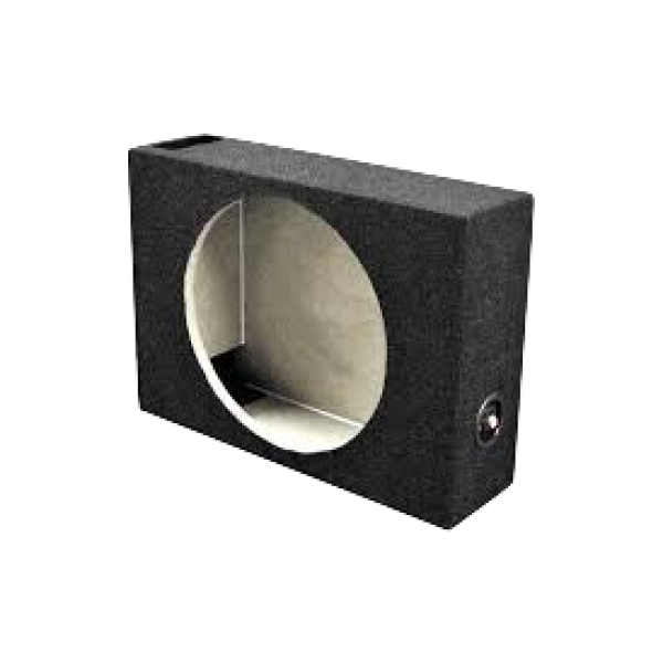 Single Flat Subwoofer 10 Inch Box