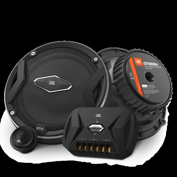 JBL GTO609C 90w RMS 6 Inch Split Speaker System 27...