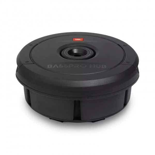 JBL BASS Pro Hub 200w RMS Spare tyre Subwoofer with Amplifier
