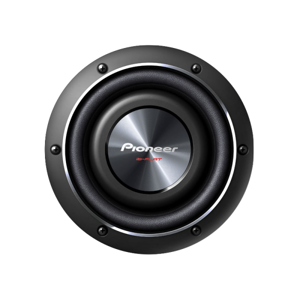 """Pioneer 8"""" Shallow-Mount Subwoofer with 600 Watts Max. Power"""