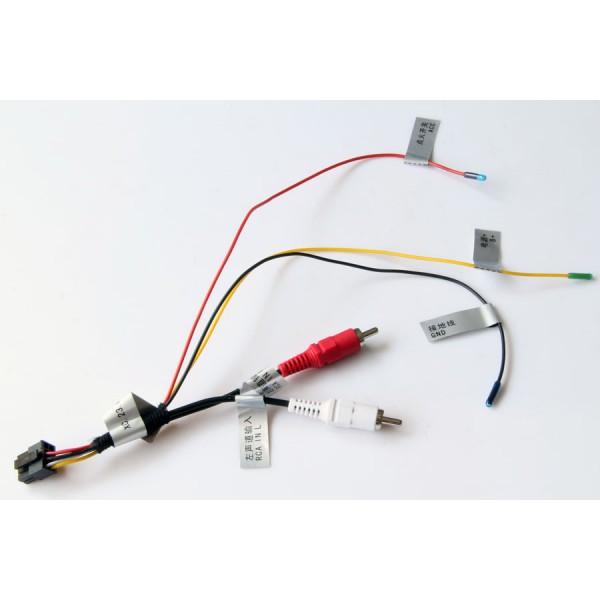 Mercedes Benz Factory Amplfier Fiber Optics Retention for aftermarket radio