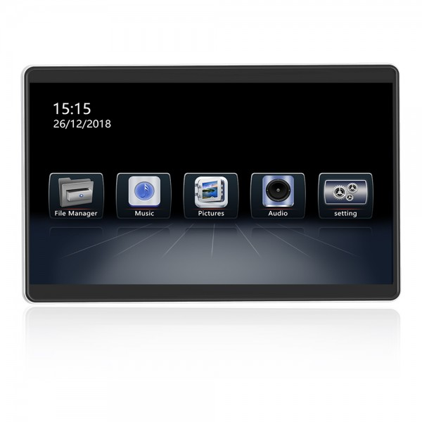 Headrest Screen 12.5 Inch Android 8.1 HD Digital I...