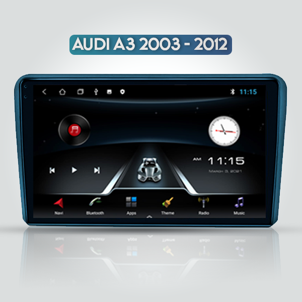 Audi A3 2003 - 2012 9 Inch Android Multimedia Touc...