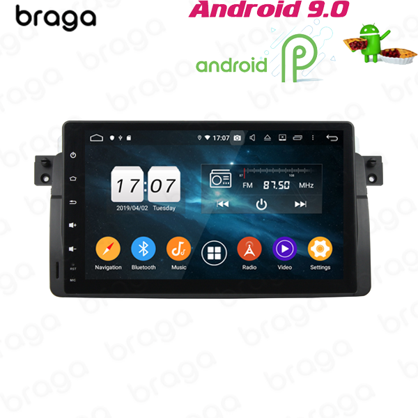 BMW 3 SERIES M3 E46 1998 - 2006 9 INCH ANDROID SAT...