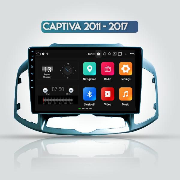 Chevrolet Captiva 2010 - 2017 10 Inch Android Navi...