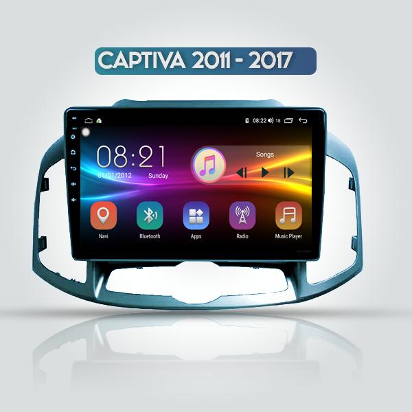 Chevrolet Captiva 2011 - 2017 10 Inch Android Navi...