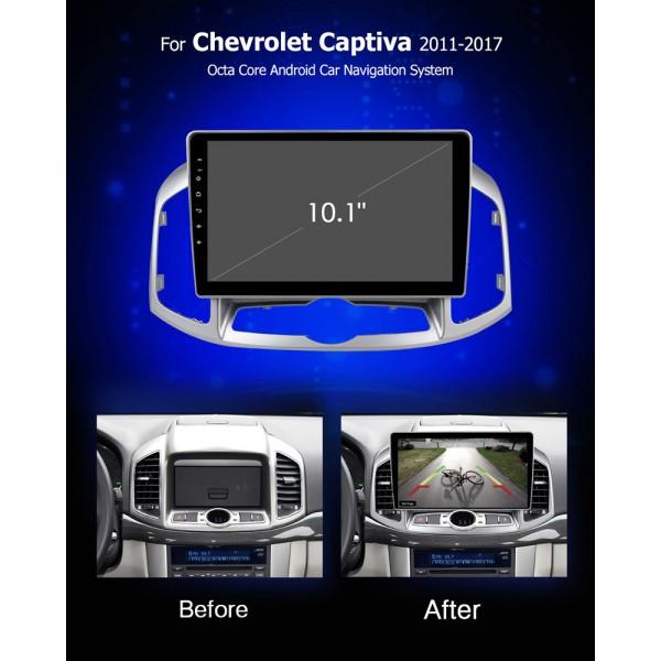 Chevrolet Captiva 2011 - 2017 10 inch Android Multimedia Bluetooth Radio