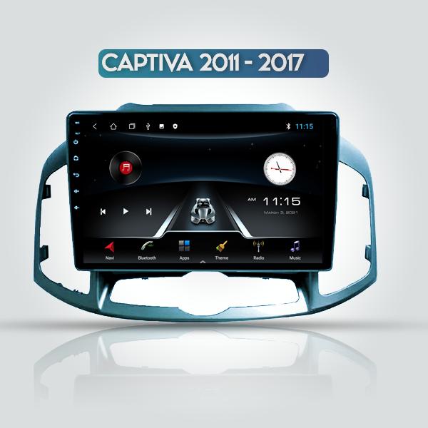 Chevrolet Captiva 2011 - 2017 10 inch Android Mult...