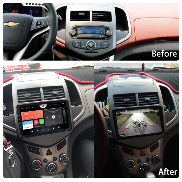 Chevrolet Aveo Sonic 2011 - 2013 9 Inch Android Navigation Radio Touch Screen