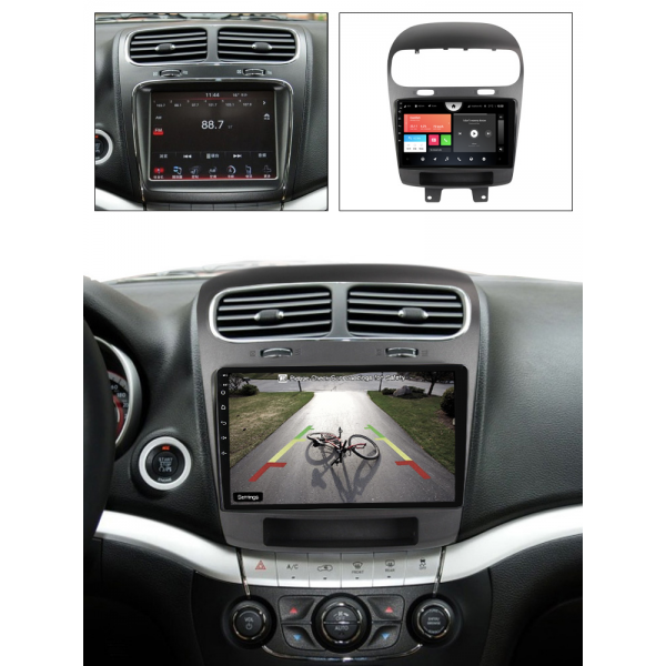 Dodge Journey 2011 - 2020 9 Inch Android Radio Touch Screen