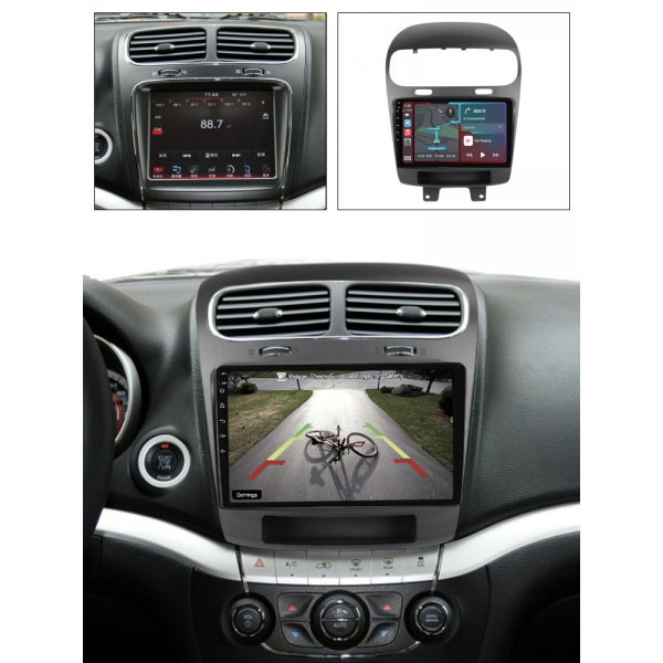 Dodge Journey 2011 - 2020 9 Inch Android Navigation Touch screen Radio
