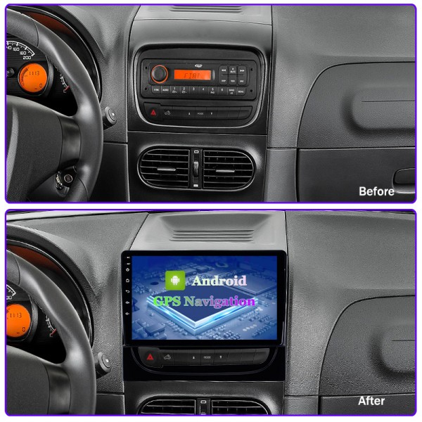 Fiat Strada 2012 - 2016 9 Inch Android Satnav Radio Car Audio Sound System