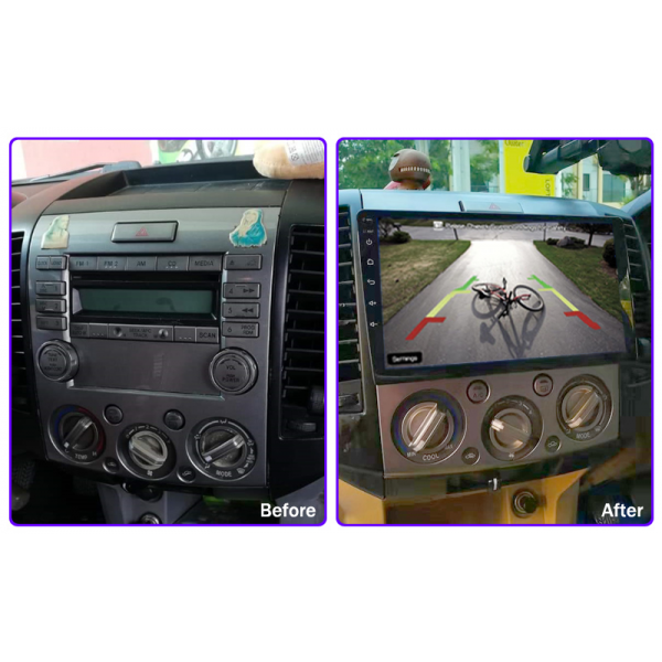Ford Ranger/Mazda BT50/Ford Everest 2006 - 2012 9 Inch Android Multimedia Player