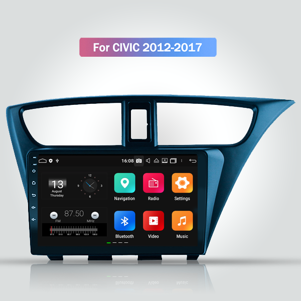 Honda Civic 2012 - 2017 9 Inch Android Touch Screen Radio