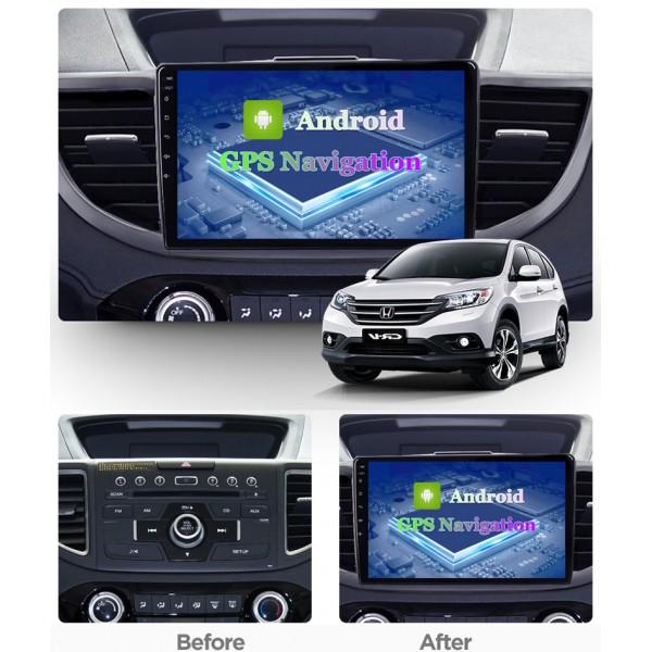 Honda CRV 2012 - 2016 Android Satnav Radio Car Audio Sound System
