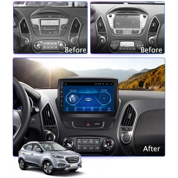 Hyundai Tucson/IX35 2010 - 2013 9 Inch Android Satnav Radio Car Audio Sound System