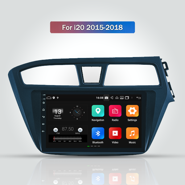 Hyundai I20 2015 - 2018 9 Inch Android Touch scree...
