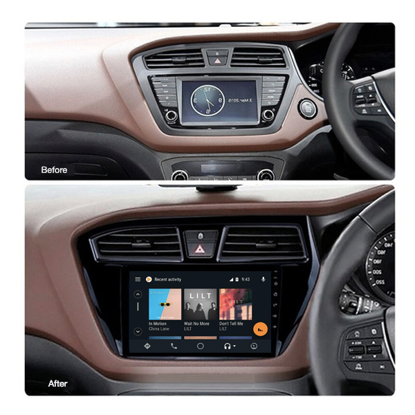 Hyundai I20 2015 - 2018 9 Inch Android Touch screen Radio Car Audio Sound System
