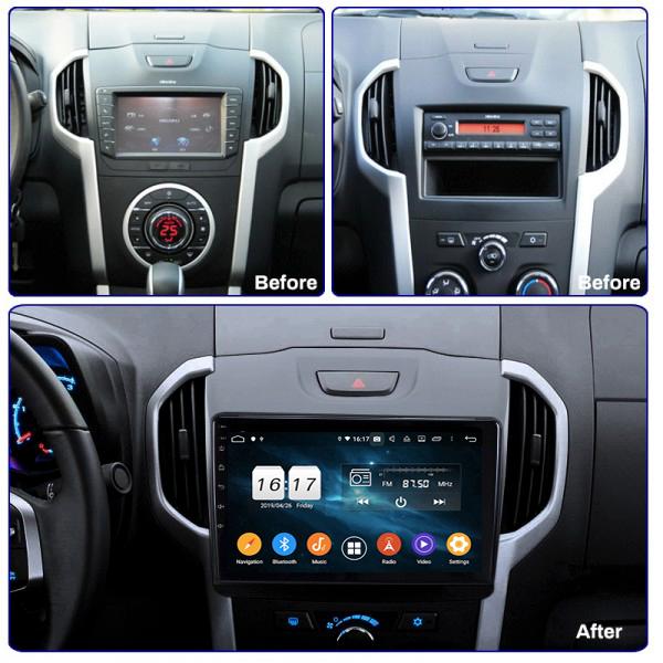 Isuzu KB/Dmax Trailblazzer 2012 - 2017 9 Inch Android Satnav Radio Car Audio Sound System