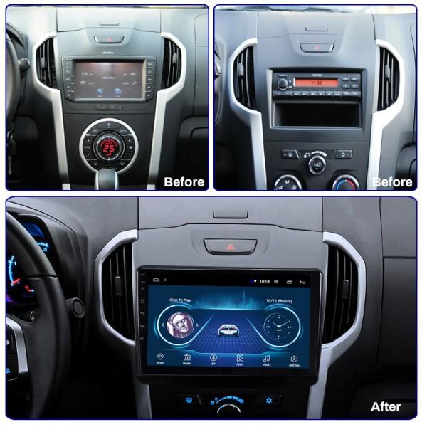 Isuzu KB DMAX 2012 - 2018 Android Satnav Radio Car Audio Sound System