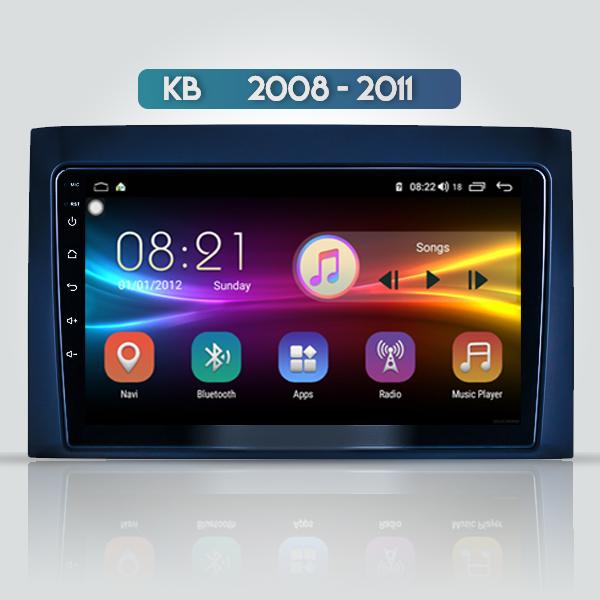 Isuzu KB 2008 - 2011 9 Inch Android Navigation Blu...