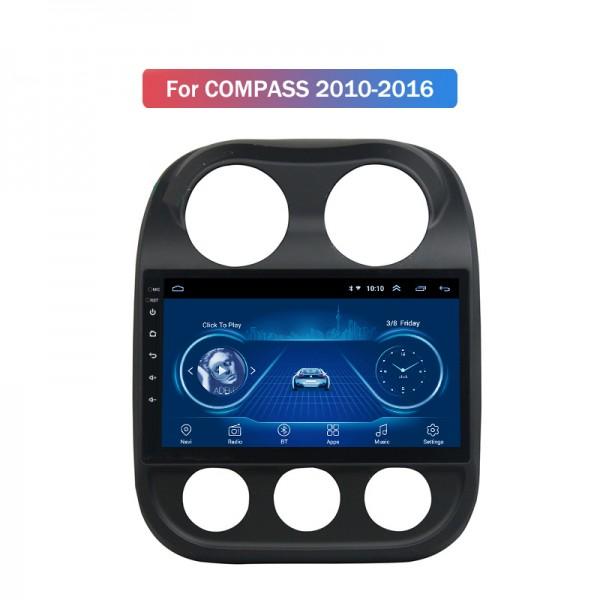 Jeep Compass 2013 - 2016 10.1 Inch Android Satnav Radio Car Audio Sound System