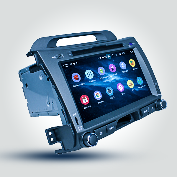 Kia Sportage 2010 - 2016 8 Inch Android Satnav Radio Car Audio Sound System