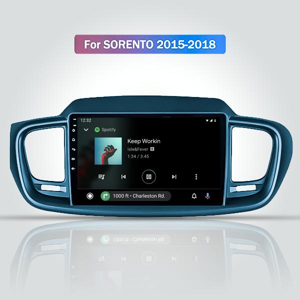 Kia Sorento 2015 - 2018 9 Inch Android Navigation Multimedia Radio