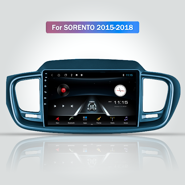 KIA Sorento 2015 - 2018 9 Inch Android Navigation Bluetooth Touch Screen