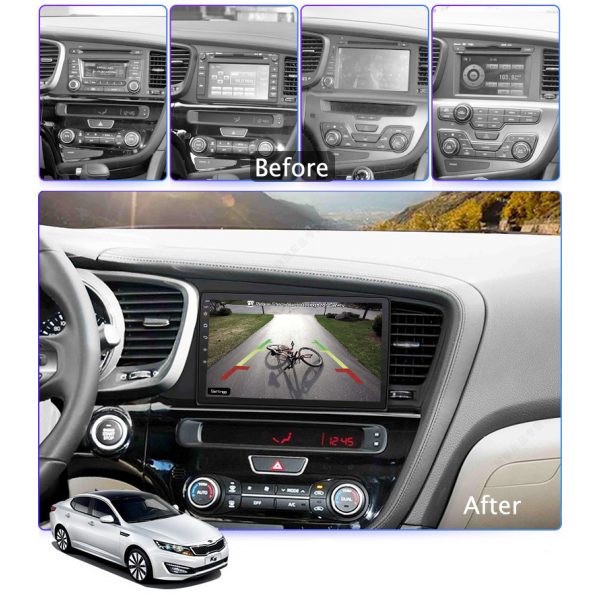 Kia Optima 2010 - 2015 9 Inch Android Navigation Bluetooth Touch Screen