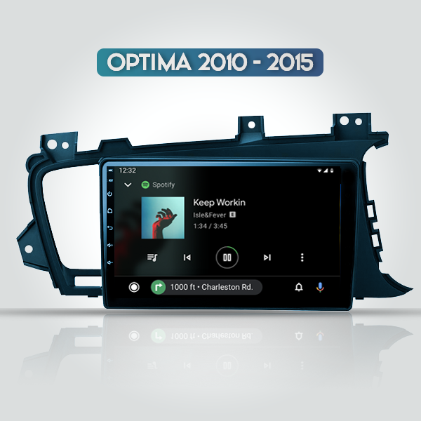 Kia Optima 2010 - 2015 9 Inch Android Navigation Multimedia Touch Screen