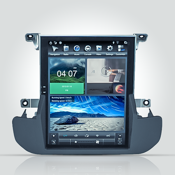 Land Rover Discovery 4 2009 - 2013 Tesla 9.7 Inch ...