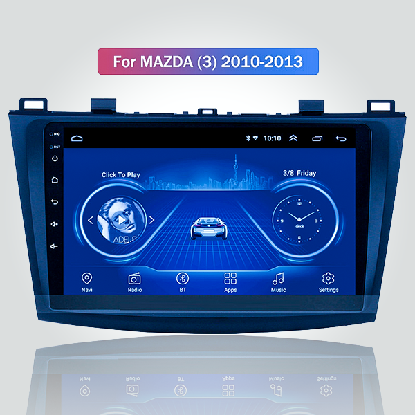 Mazda 3 2010 - 2013 9 Inch Android Satnav Radio Ca...