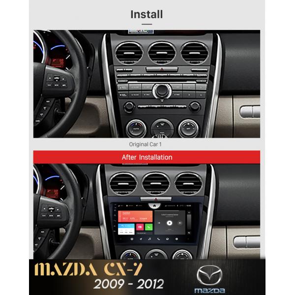 Mazda CX-7 2009 - 2014 9 Inch Android Satnav Radio Car Audio Sound System