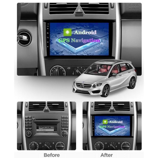 Mercedes Benz B Class W245 2004 - 2012 10.1 Inch Android Satnav Radio Car Audio Sound System