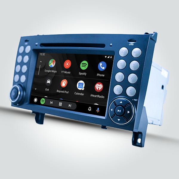 Mercedes Benz SLK 2004 - 2011 7 Inch Android Satnav Radio Car Audio Sound System