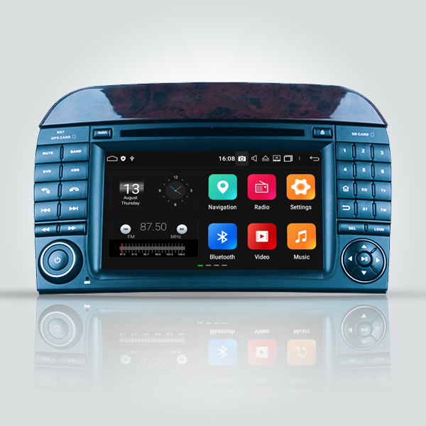 Mercedes Benz SL-55 2001 - 2006 7 Inch Android Radio Touch Screen Radio