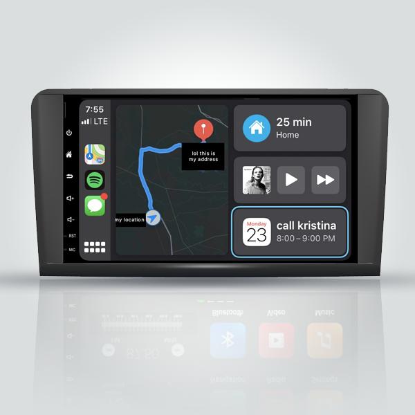 Mercedes Benz ML W164 2005 - 2012 9 Inch Android Satnav Radio Car Audio Sound System
