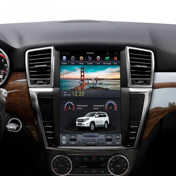 Mercedes Benz ML W166/ GL X166 2012 - 2015 Tesla 12.1 Inch Android Satnav Car Audio Sound System