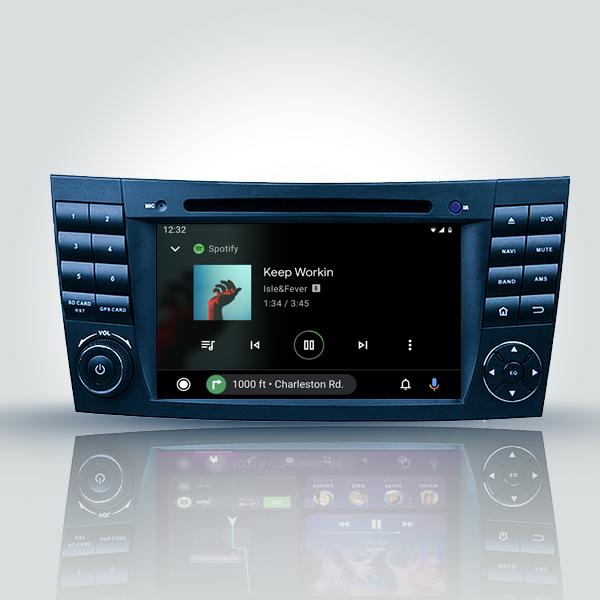 MERCEDES BENZ CLK W209 /W211 E-CLASS/CLS W219/ G-CLASS W463 2001 - 2010 ANDROID SATNAV RADIO CAR AUDIO SOUND SYSTEM