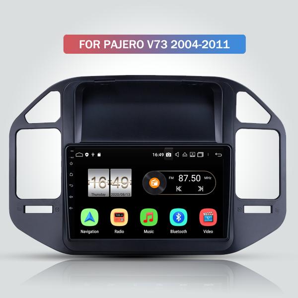 Mitsubishi Pajero V73 2004 - 2011 9 Inch Android Satnav Radio Car Audio Sound System