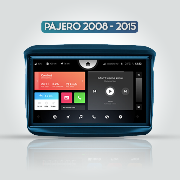 Mitsubishi Pajero Sport 2 2008 - 2015 9 Inch Android Bluetooth Radio