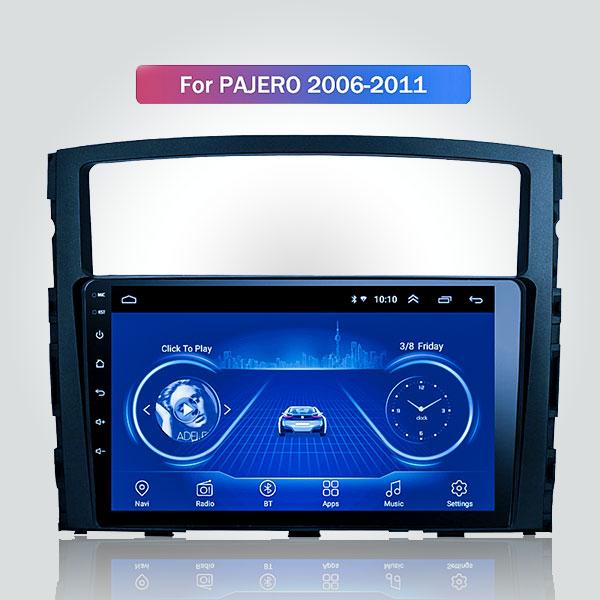 Mitsubishi Pajero 2006 - 2011 9 Inch Android Satnav Radio Car Audio Sound System