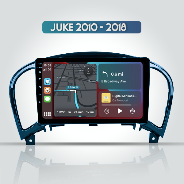 Nissan Juke 2010 - 2018 9 Inch Android Navigation Touch Screen Radio