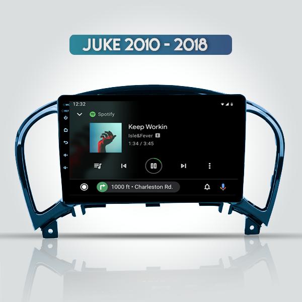 Nissan Juke 2010 - 2018 9 Inch Android Navigation Bluetooth Radio