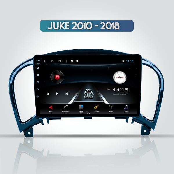 Nissan Juke 2010 - 2018 9 Inch Android Navigation Multimedia Player