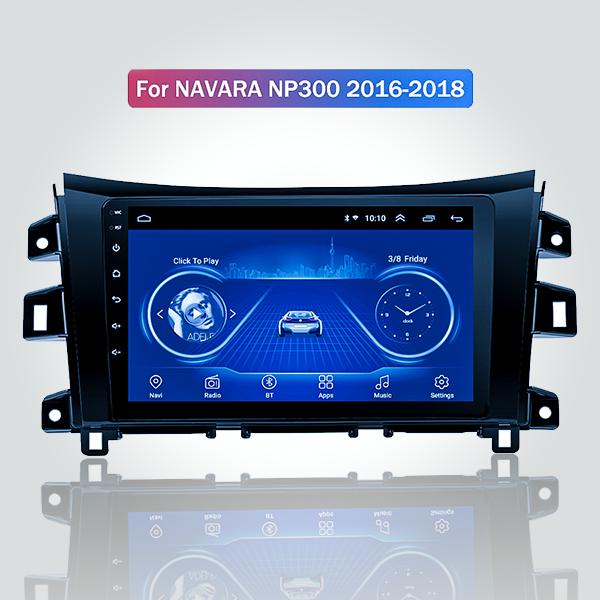 Nissan Navara 2016 - 2019 10 Inch Android Satnav R...