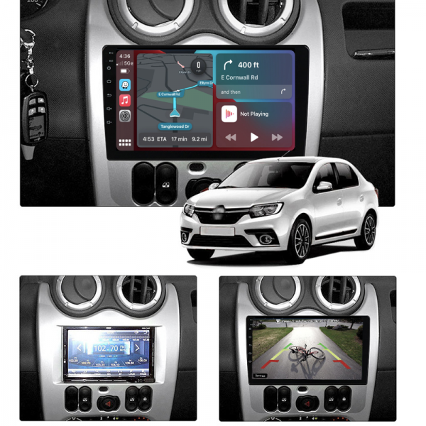 Nissan NP200 2009 - 2021 9 Inch Android Navigation Touch Screen Radio